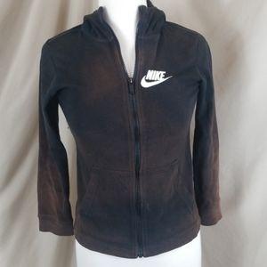 Nike Zip Front Sweatshirt w/Hood